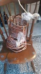 Copper tubing for home brew