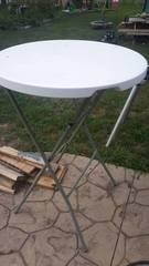 Bar Height Plastic Table