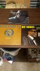 Trio of Ray Charles Records