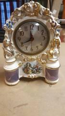 Vintage Hand Painted Clock