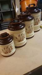 Set of Ceramic Cannisters