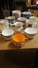 lot of Mugs and Glasses