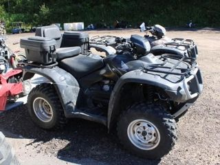 2009 Honda Rubicon ATV