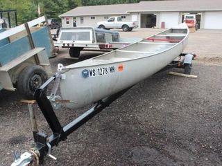 20 ft. Grumman Canoe with Trailer