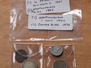 1882  1970   Mixed lot of Coins