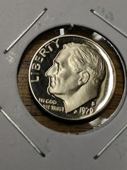 1979 s Cameo proof Eisenhower dime