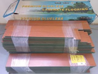 Approx. 150 ft. Glueless Flooring