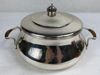 Axel Salomonsen Danish Sterling Covered Bowl