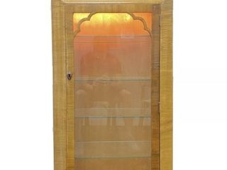 Art Deco Lighted Cabinet 48
