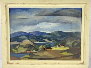 MN Artist Arthur Kerrick Oil On Canvas 31