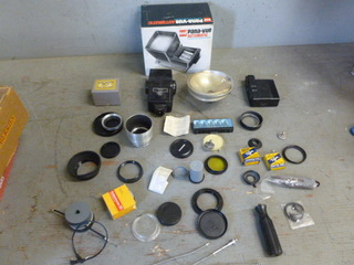Vintage Camera Items