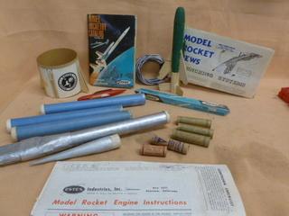 Model Rocket Items