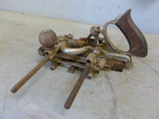 Antique Wood Plane Tool