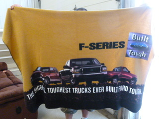 Collector Ford Blanket