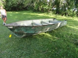1971 Creast Liner Boat
