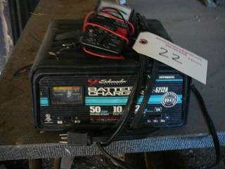 Schumaker Battery Charger/GB Instruments Tester