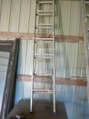 13 Step Alum Sliding Ladder