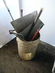 Bucket With Misc. Tools