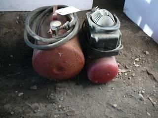 Air Compressor & Air Tank