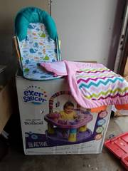 Exer Saucer (Appears To Be New) Other Baby Chair & Activity Pad
