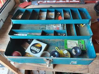 Tackle Box With Contents