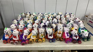 62 Limited Treasures Coin Bears