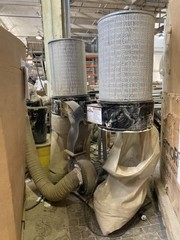 4-Bag Dust Collection System w/ Cartridge Filters