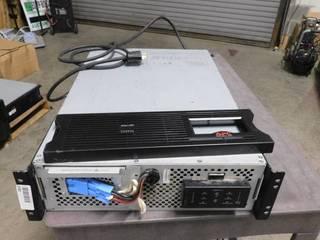 APC Smart UPS Xl SUA2200RMXl3U 2200VA 3U Rackmount UPS System with batterys
