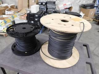 Two Spools of Fiber Optic CableIJIJIJ
