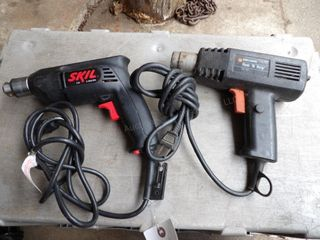 SKil 3/8 drive electric drill & B&D heat gun