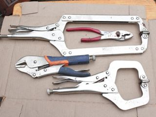 locking pliers - 4pcs