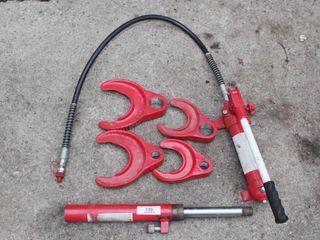 hydraulic shock spring compressor