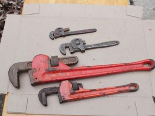 pipe wrenches - 3pcs
