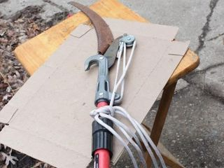 Pole pruner / pole saw