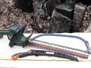 tree saws & Hedge trimmer