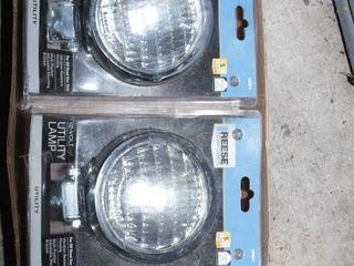 Tractor headlamps