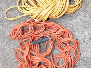 pair of 25' extention cords