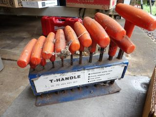 t-handle allen wrenches