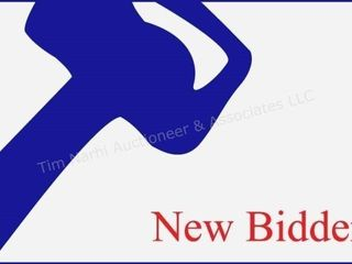 NEW BIDDER INFORMATION