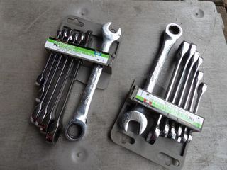 Pittsburgh flat ratchet sets - (2) 7pc sets