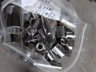 assortment of craftsman mixed metric sockets