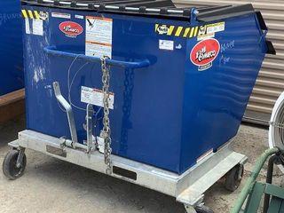 Vestil Portable Dumpster P-HOP-1.5