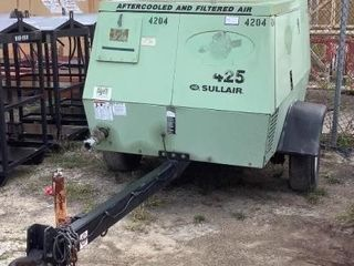 Sullair Trailer Mounted Air Compressor 425AFDPQJD2