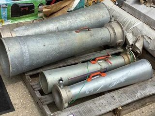 (4) Pneumatic Air Movers