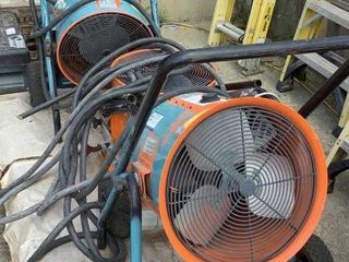(3) Portable Heaters