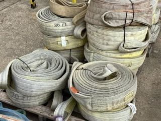 (11) Assorted Polyester Rigging Slings