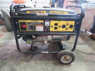 Steele SP-GG600 6000watt Generator 13hp (like new)