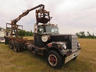 1972 White Log Truck Diesel