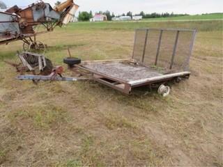 6ft. x 6ft. single axle trailer w/ramp