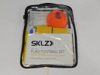SKLZ Deluxe Flag Football Set
